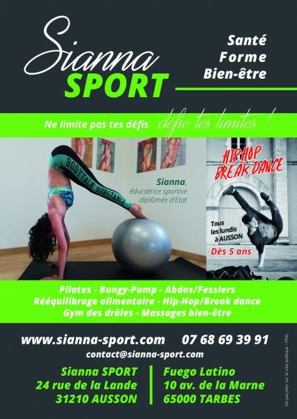 Sianna SPORT : BREAKDANCE / HIP HOP à Ausson (entre Tarbes et Saint Gaudens)